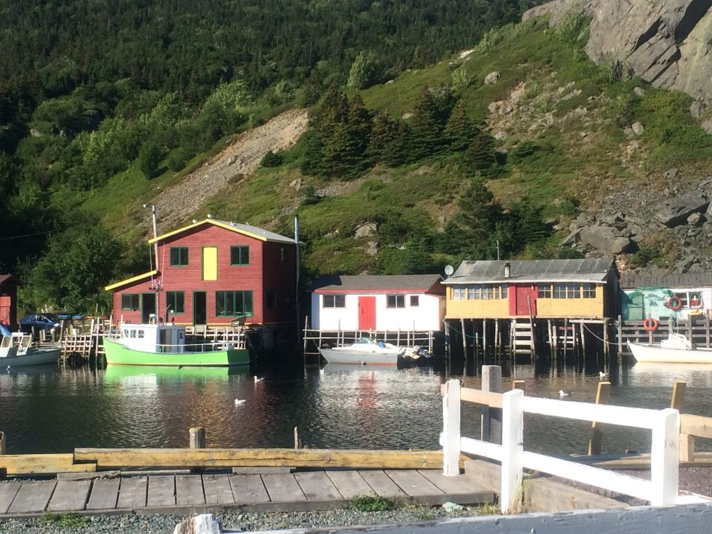 Fishing Stages in Quidi Vidi Village